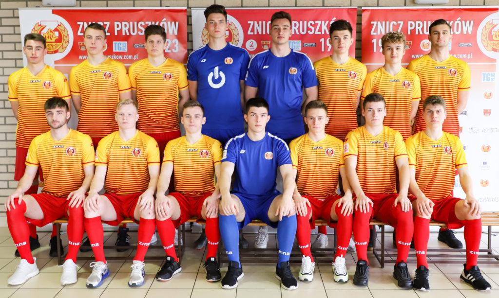 Prezentacja drużyny Znicz Pruszków – runda wiosenna sezonu 2019/2020