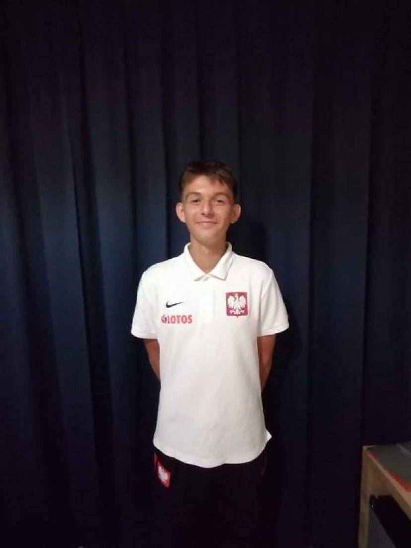 Szymon Królak w reprezentacji Polski U15