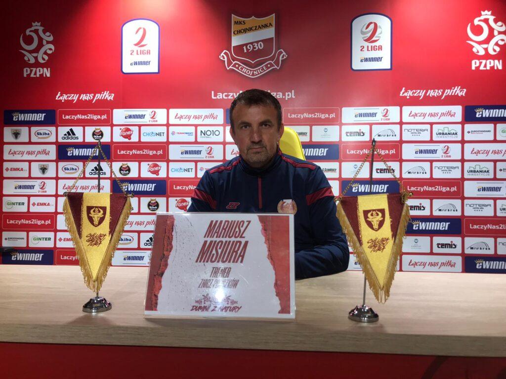 Konferencja po meczu Chojniczanka – Znicz Pruszków 1:2 (konferencja | 28.08.2021)