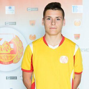 Arkadiusz Pyrka w reprezentacji U20